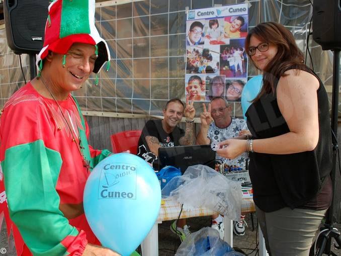 Festa per i trent'anni del Centro down Cuneo con 130 amici