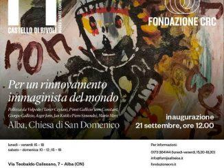 Arte immaginista: sabato 21 inaugura la mostra nella chiesa di San Domenico ad Alba