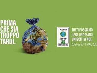 Torna Puliamo il Mondo, l'iniziativa di volontariato ambientale organizzata da Legambiente