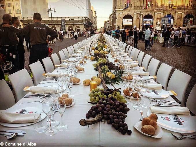 Città creative Unesco: Alba ospite della Cena dei mille a Parma