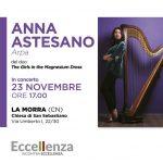 Eccellenza incontra eccellenza: l'arpista Anna Astesano accoglie Sebaste
