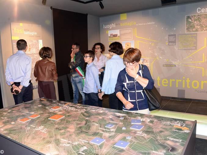 Il Museo della battaglia di Ceresole apprezzato dai francesi