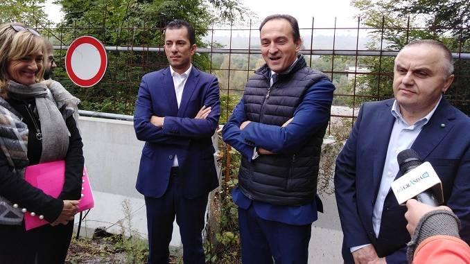 """Cirio assicura: """"Nel mio mandato ricostruiremo il ponte crollato di Monchiero"""""""