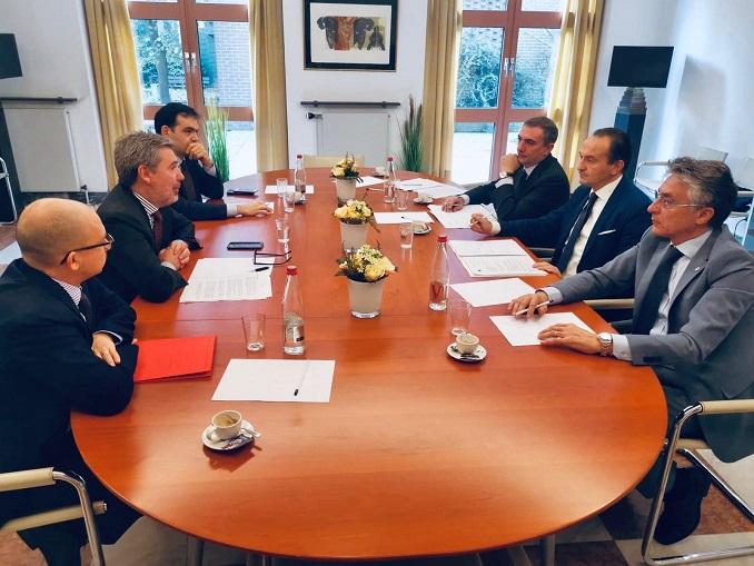 Cirio e Bo a Bruxelles