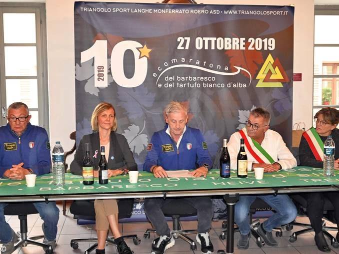 Domenica è in programma la decima Ecomaratona del Barbaresco e del tartufo 2