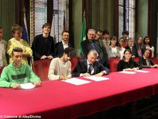 Alba e i giovani del movimento per il clima hanno sottoscritto un accordo congiunto