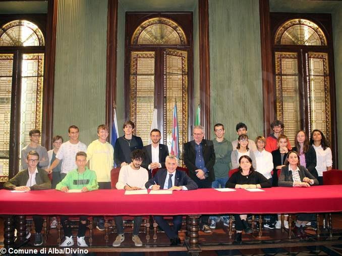 Alba e i giovani del movimento per il clima hanno sottoscritto un accordo congiunto 1