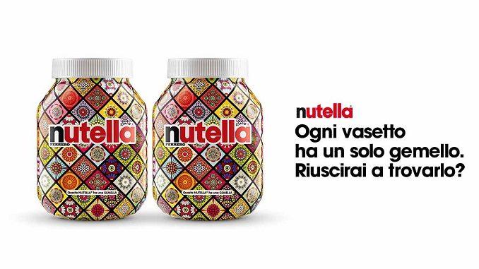 Ferrero lancia Nutella gemella, la campagna che esalta le differenze
