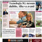La copertina di Gazzetta d'Alba in edicola martedì 15 ottobre