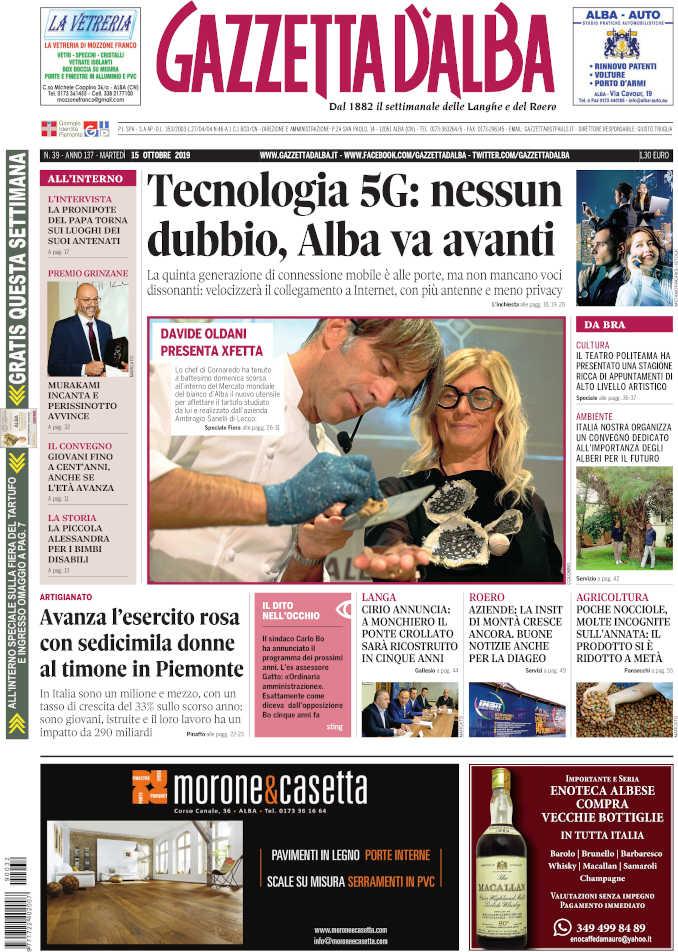 Prima_pagina_Gazzetta_Alba_39_19