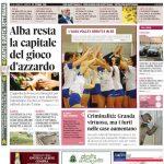 La copertina di Gazzetta d'Alba in edicola martedì 22 ottobre