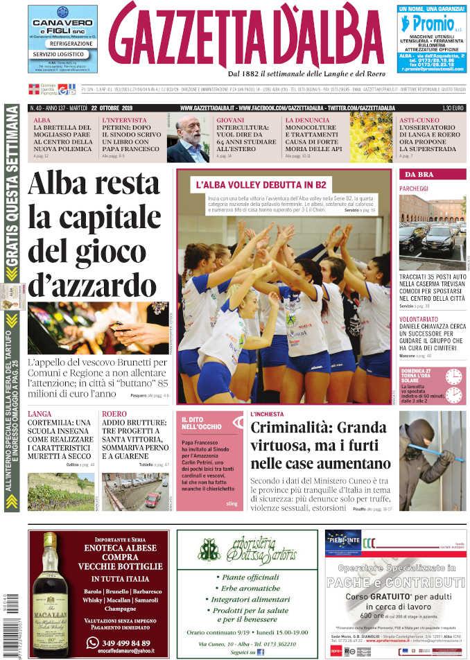 Prima_pagina_Gazzetta_Alba_40_19