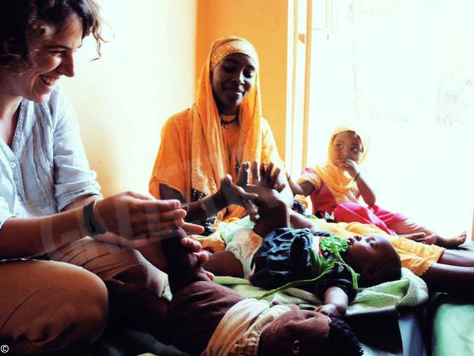 Sara Conterno massaggio infantile