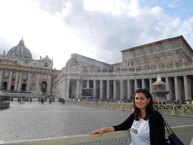 Silvina, pronipote del Papa, ritorna ai luoghi degli avi