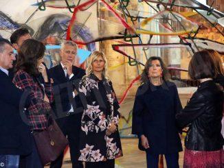 Alberti Casellati sotto le torri: il fuoriprogramma in duomo