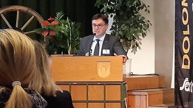 Roberto Cerrato ha partecipato al Dolomiti Forum UNESCO 2019