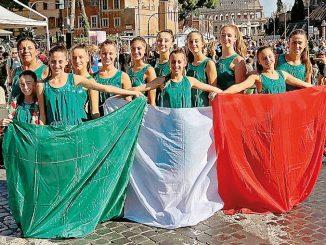 Ginnaste albesi a Roma per i 150 anni della Federazione
