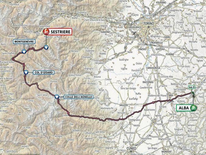 Giro d'Italia 202: il tappone alpino Alba-Sestriere ora è ufficiale 1