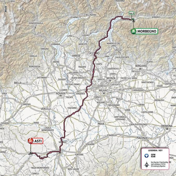 Giro d'Italia 202: il tappone alpino Alba-Sestriere ora è ufficiale 2