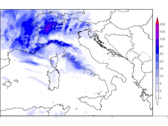 grafico pioggia 15ott19