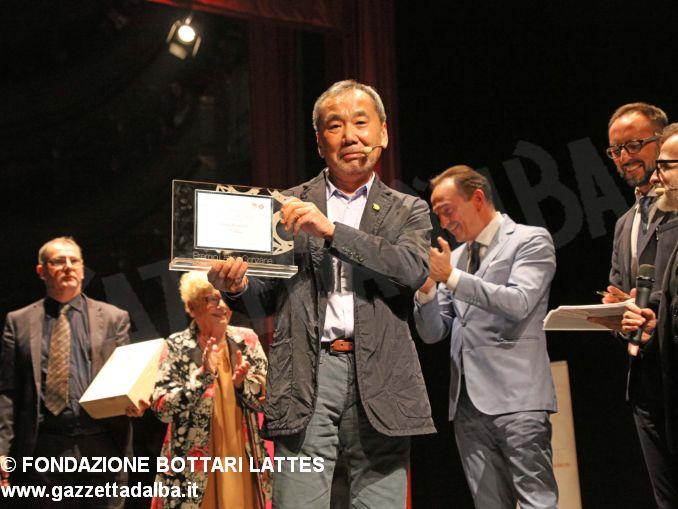 haruki Murakami premio lattes grinzane 2019 -lectio e premiazione fondazione Bottari Lattes-Murialdo (10)