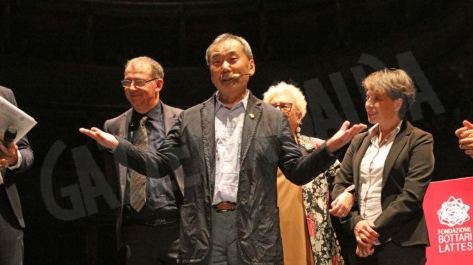 Haruki Murakami, la Quercia del premio Lattes Grinzane 2