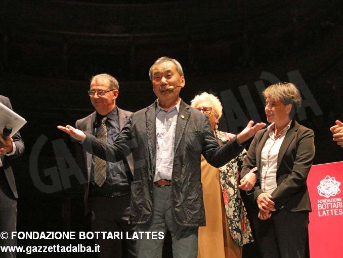 haruki Murakami premio lattes grinzane 2019 -lectio e premiazione fondazione Bottari Lattes-Murialdo (7)