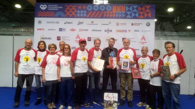 Ambasciatori sportivi astigiani sulle strade di Mosca 1
