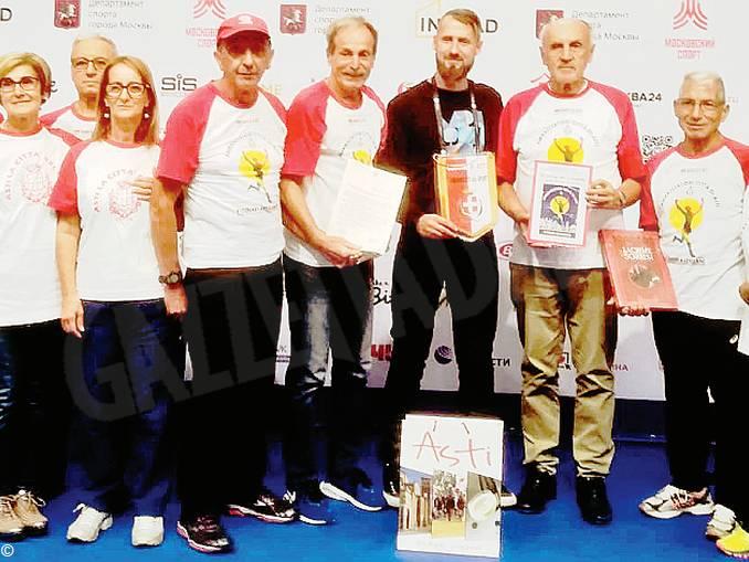maratoneti astigiani a Mosca