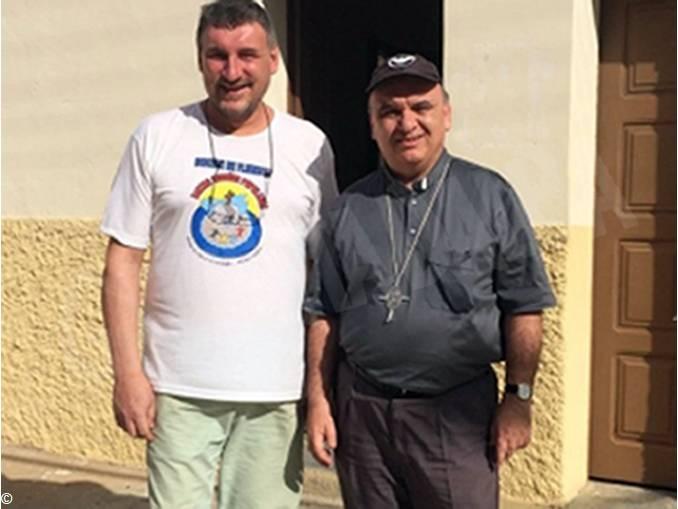 padre bonino con vescovo brunetti