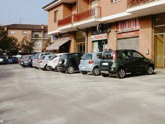 Mussotto: asfaltato il parcheggio all'incrocio con strada Guarene