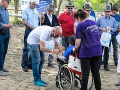 Sportabili: festa di fine stagione per il gruppo di equitazione con un bel dono da parte degli alpini 2