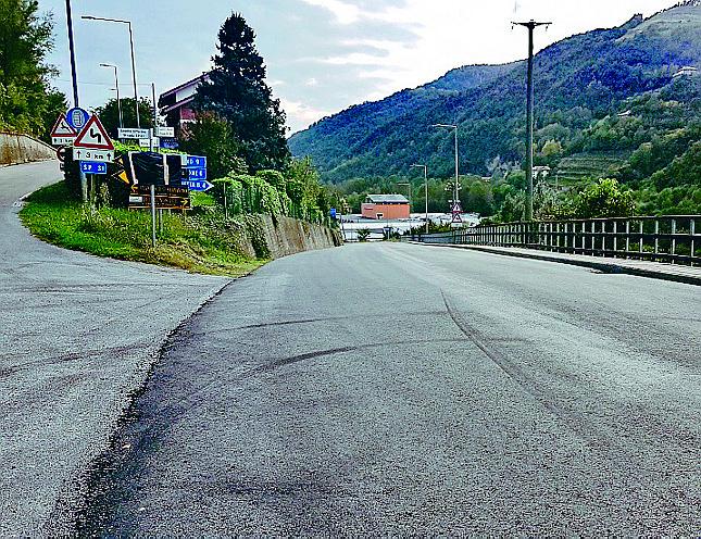 Sulla provinciale verso Rocchetta completati i lavori di asfaltatura e messa in sicurezza