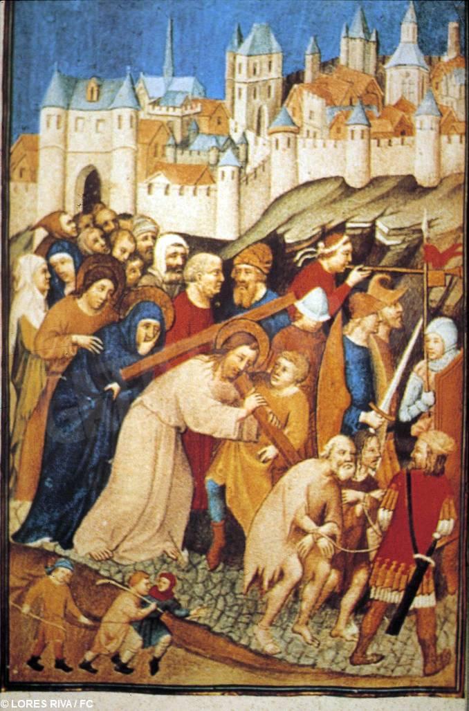 Cristo porta la croce