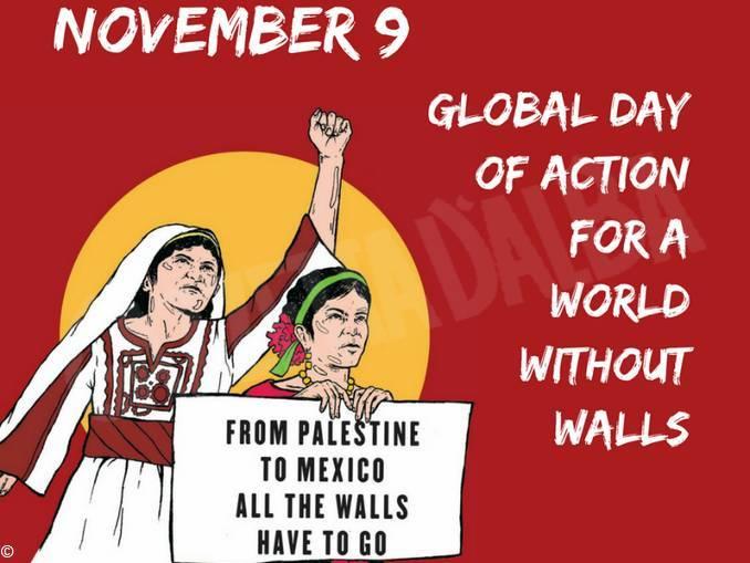 """Manifestazione """"Basta a tutti i muri"""""""