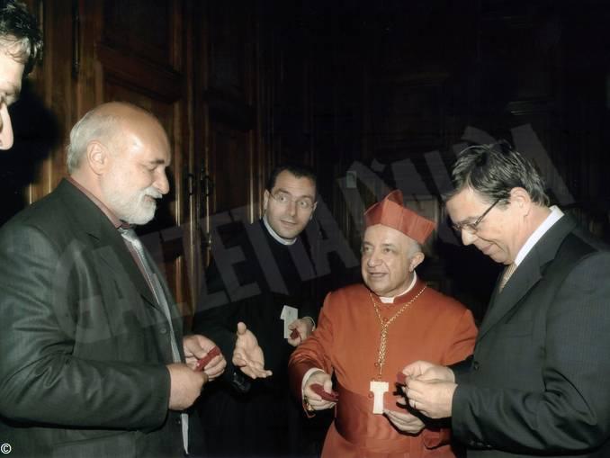 Emil Marinov Tzeinsk console Bulgaria cardinale Tettamanzi