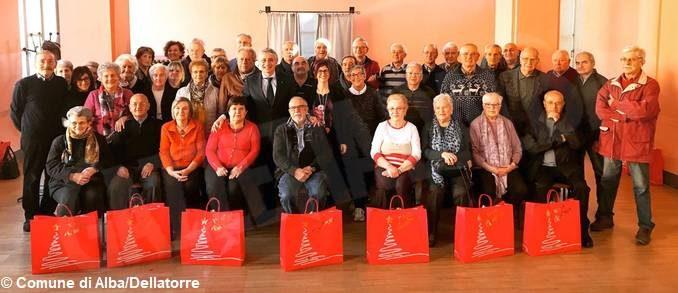L'Amministrazione di Alba ha ringraziato i nonni civici volontari