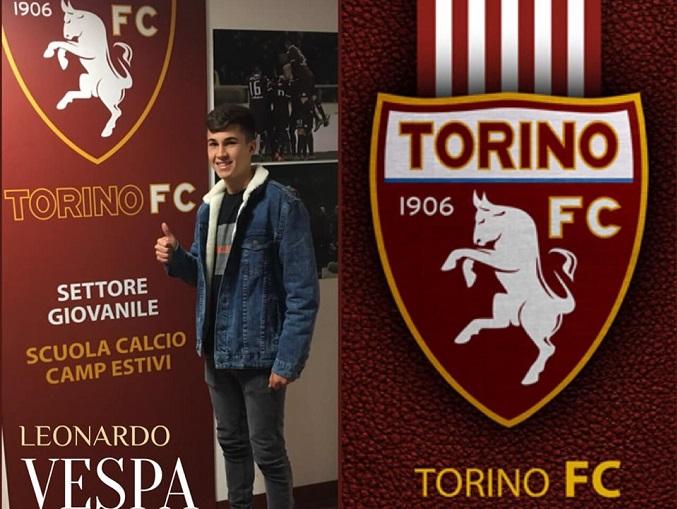 Leonardo Vespa è un nuovo giocatore del Torino under 17