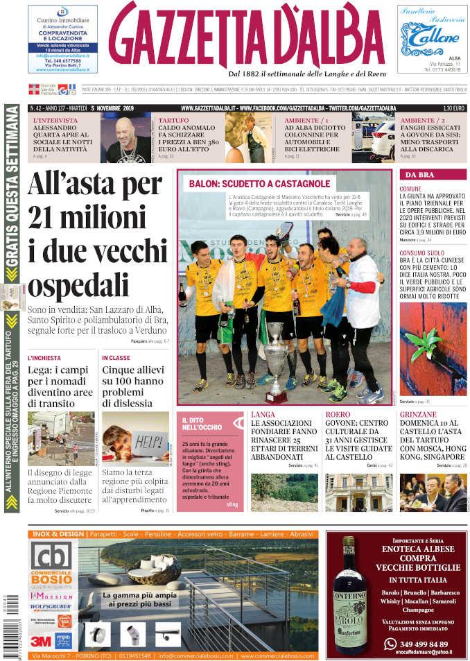 Prima_pagina_Gazzetta_Alba_42_19