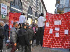 Basta a tutti i muri: la manifestazione ad Alba
