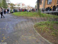 Grande adesione alla prova di evacuazione di Alba per commemorare i 25 anni dall'alluvione 2