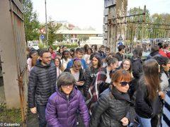 Grande adesione alla prova di evacuazione di Alba per commemorare i 25 anni dall'alluvione 8