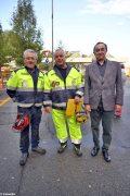 Grande adesione alla prova di evacuazione di Alba per commemorare i 25 anni dall'alluvione 9