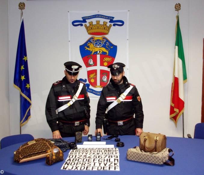 carabinieri alba sequestro