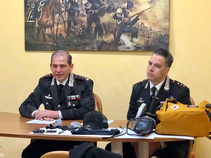 carabinieri conferenza stampa arresto