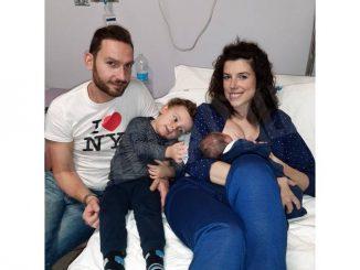 Domenica notte, su un'ambulanza a Cortemilia, è nata Carlotta