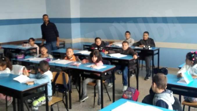 I bambini a scuola di arabo