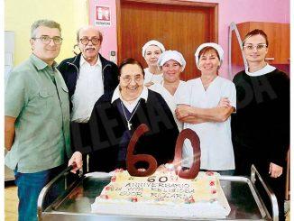 Monforte: suor Riccarda è al servizio della comunità da 51 anni