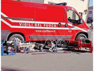 Dogliani: i Vigili del fuoco hanno a disposizione nuove attrezzature