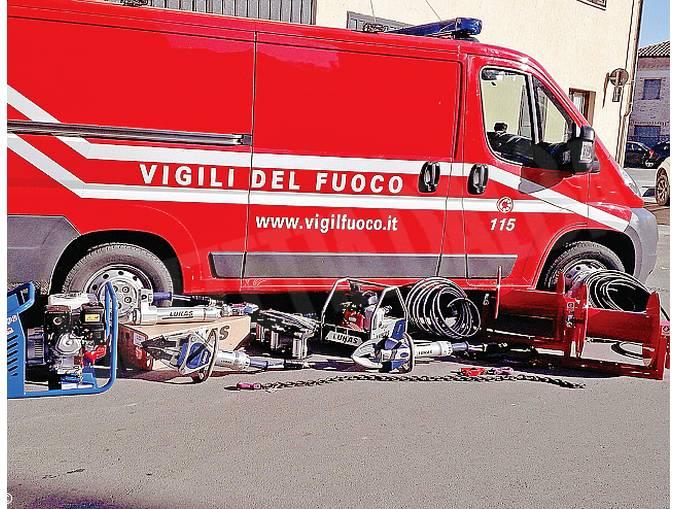 vigili del fuoco Dogliani